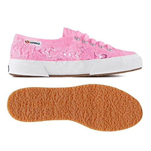 Superga 2750 para Rosa Zapatillas Macramew Mujer rrfqw