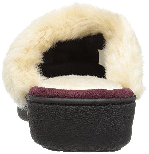 W Enhanced Meter Zapatilla Cushion ISOTONER para de Mujer Heel Henna Clog 5TxgCB7