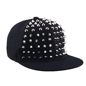 LENGXDR Gorras De Hombre Moda Punk Rock Hiphop Snapback Gorras ...