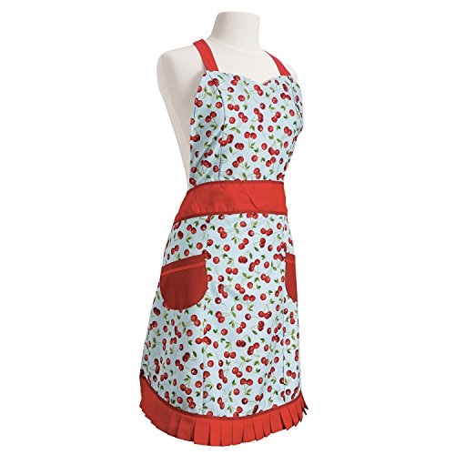 Now Designs Betty Apron Cherries
