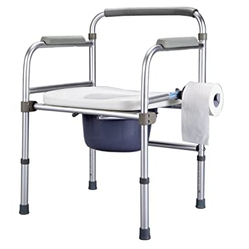 GFYWZ Silla De Ducha Médica Plegable Plegable De Aluminio ...