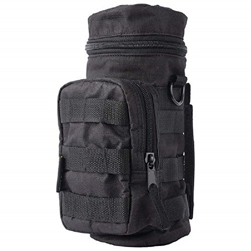 Extreme Pak Black Water Bottle Molle Pouch