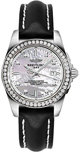 Breitling Galactic 32 Sleek Edition Women's Watch A7133053/A801-408X