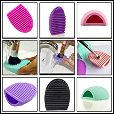 Original Brushegg Silicone Cosmetic Make-up Brush Cleaning Tool