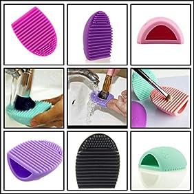 Original Brushegg Silicone Cosmetic Make-up Brush Cleaning Tool
