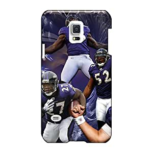 Samsung Galaxy S5 Mini OLx2258atTs Support Personal Customs Realistic Baltimore Ravens Image Great Cell-phone Hard Cover -MarcClements