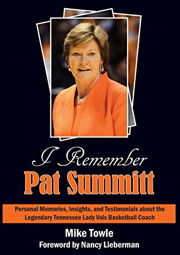 (I Remember Pat Summitt: Personal Memories, Insights, and Testamonials about the Legendary Tennessee Lady Vols Basketball Coach)