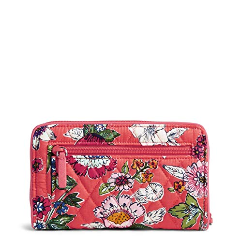 Vera Bradley Women's RFID Turnlock Wallet-Signature, Coral Floral, One Size by Vera Bradley (Image #2)