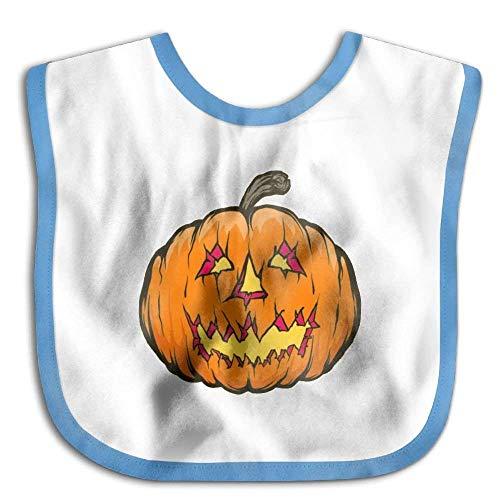 Soft,Cotton Polyester,Pumpkin Halloween Fruit Clever Halloween Costumes Waterproof Bib The Baby Bib Girl Lovely Baby Skin wrap -