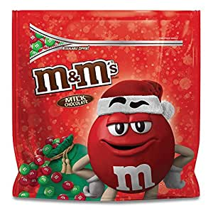M&M'S Christmas Milk Chocolate Candy Party Size 42-Ounce Bag