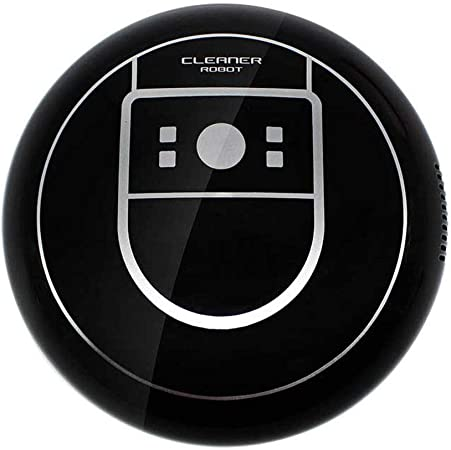 HUOLEO Carga USB Inteligente Robot Aspirador, Inducción Barredora Robots Aspiradores por Hogar Regalo-Negro: Amazon.es: Hogar
