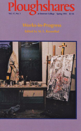 Ploughshares Spring 1991 Guest-Edited by M. L. Rosenthal