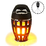 CXCASE Bluetooth Speakers, Dancing Flame Series - Outdoor Portable Stereo Wireless Speaker With Tripod, HD Audio and Enhanced Bass, LED Flicker Lights at Night For iPhone, Android, iPad, Tablets