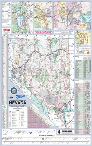 Download 36x56 Nevada State Official Executive Laminated Wall Map pdf epub