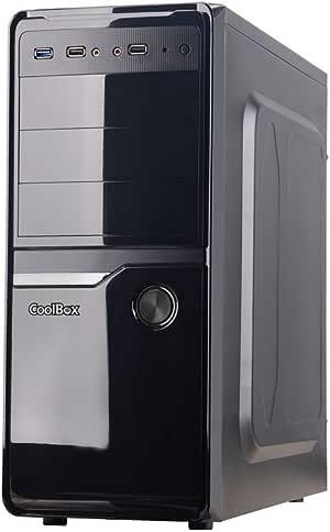 CoolBox ATX F100 Small Form Factor (SFF) Negro: Amazon.es: Electrónica