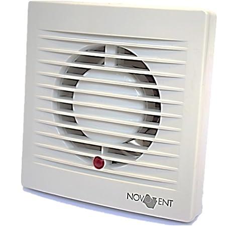 Novovent BAA010T Ventilador Extractor para Baño, 15 W, 230 V, 100 mm: Amazon.es: Bricolaje y herramientas