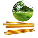 HYOUT Adjustable Tarp Poles Aluminium Alloy