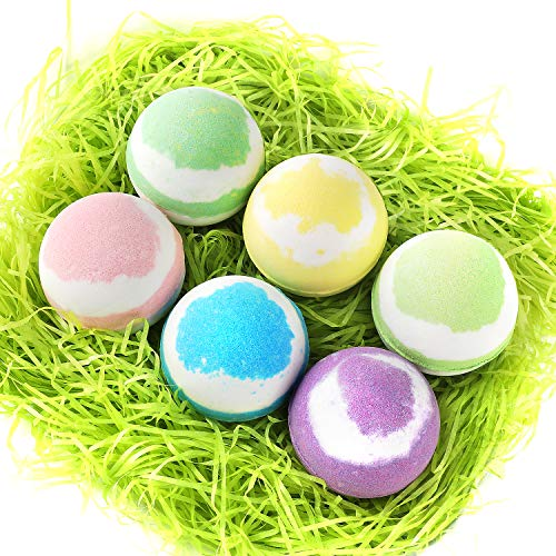 (UMEXUS Bath Bombs Gift Set Lush Fizzies Relaxation Spa Dry Skin Moisturize, Perfect for Bubble & Spa Bath Handmade Bath Bomb kit for Girlfriend Moms Birthday Mothers day)