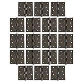 Likimen 18 Pack of Square Corner Door Hinges 4