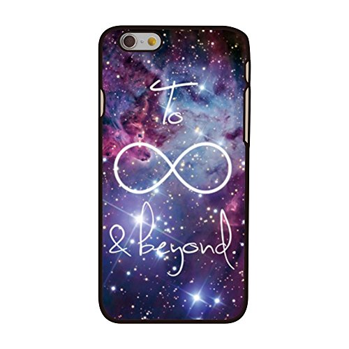 Coque Violet decui Violet plastique rigide pour Apple iPhone 6Slim Infinity Galaxy