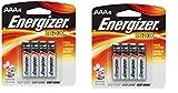 Energizer Max Alkaline AAA Batteries VXHeSp, 4 Count, 2 Pack