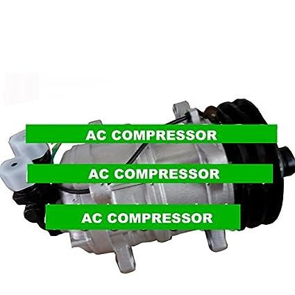 GOWE compresor de aire acondicionado para coche TM16 TM-16 24 V 12 V Oem # z0006361 a AC Compresor: Amazon.es: Bricolaje y herramientas