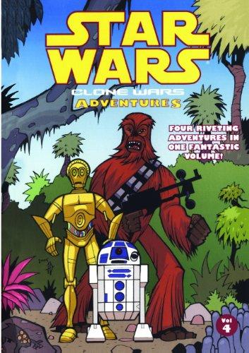 Clone Wars Adventures 4 (Turtleback School & Library Binding Edition) (Star Wars: Clone Wars Adventures (PB))