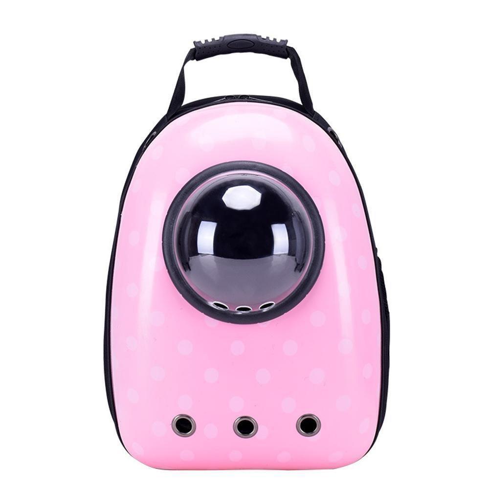 ordina adesso Daeou Zaino per animali domestici Gatto Pet borsa borsa borsa fuori Pack traspirante portatile borsa dell'animale domestico gatto spazio di doggy Bag doppia spalla borsa gatto gabbia PVC 43  30  22 cm  migliore vendita