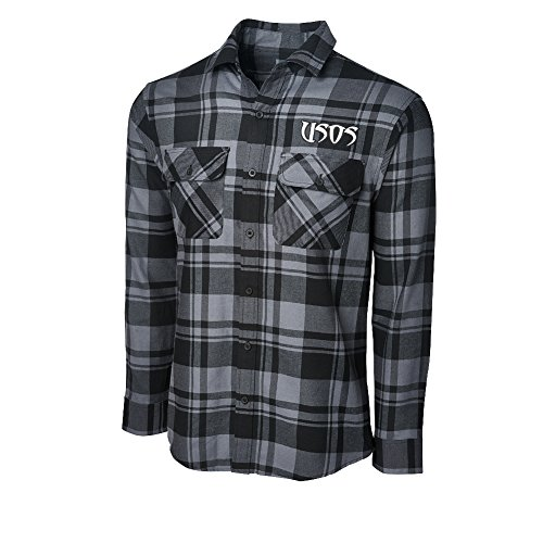 WWE The Usos Since Day One Ish Flannel Shirt Medium by WWE Authentic Wear