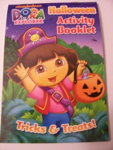 Dora the Explorer Holiday Activity Booklet ~ Halloween (Tricks & Treats; Dora the Pirate) -