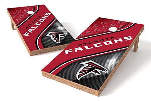 PROLINE NFL Atlanta Falcons 2'x4' Cornhole Board Set - Swirl (Atlanta Falcons Nfl Bean Bag)