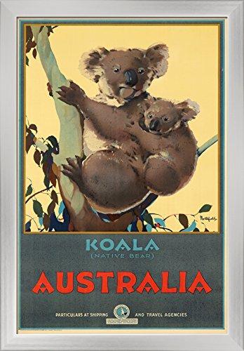 Australia - Koala Vintage Poster artist: Northfield, James Australia c. 1932 Giclee Art Print,