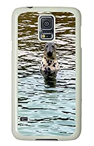 Samsung Note S5 CaseCurious Seals PC Custom Samsung Note S5 Case Cover White