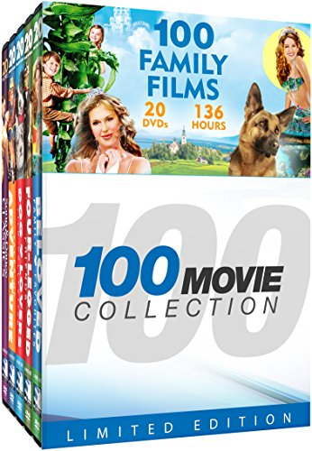 (100 Family Films: Jack and the Beanstalk - Rescue from Gilligan's Island - The Inspector General - Spy School - Royal Wedding - Misty - Lassie - Till the Clouds Roll By + 92 more!)