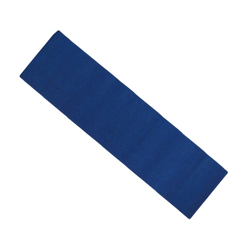 GenericスケートボードデッキサンドペーパーグリップテープスケートボードLongboarding Griptapeシート Griptapeシート ブルー ブルー B01MR8N2C1 B01MR8N2C1, rocotte:3661804b --- ero-shop-kupidon.ru