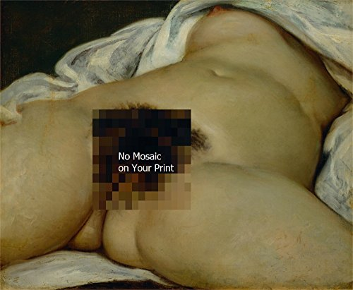 Odsan Gallery The Origin Of The World - By Gustave Courbet - Canvas Prints 16