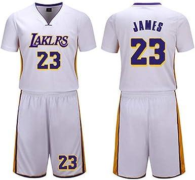 Camiseta de Baloncesto de Los Angeles Lakers # 23 Lebron James ...