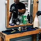 CCbeauty Men's Shaving Set, Engraved Shave Brush