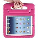 MYCARRYINGCASEキッズArmorBoxキックスタンドカバーケース (iPad2; 新しいiPad3; iPad 4 Retinaディスプレイ, Pink ピンク色)