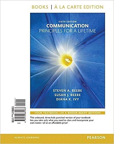Amazon communication principles for a lifetime books a la communication principles for a lifetime books a la carte edition 6th edition 6th edition fandeluxe Images