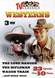 TV Classic Westerns, Vol. 1-3: The Lone Ranger/The Rifleman/Wagon Train...and Many More
