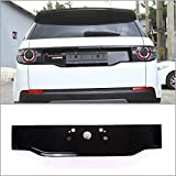 For Land Rover Discovery Sport 2015 2016 2017 ABS Chrome Gloss Black Rear Tail Decoration Frame Cover Trim Newest Car Accessory (gloss black)