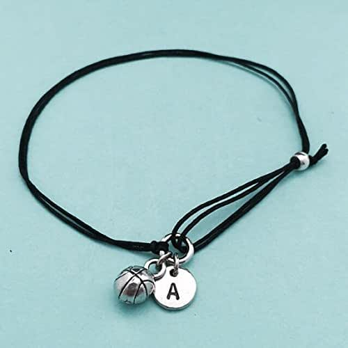 Basketball Charm Bracelet: Amazon.com: Basketball Cord Bracelet, Basketball Charm