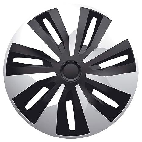 Amazon.com: Style Auto AutoStyle Set Wheel Covers Orion-Van 15-inch Silver/Black (Spherical): Automotive