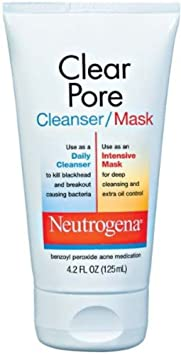 Neutrogena Clear Pore Cleanser/Mask, 4.2 Ounce by Neutrogena