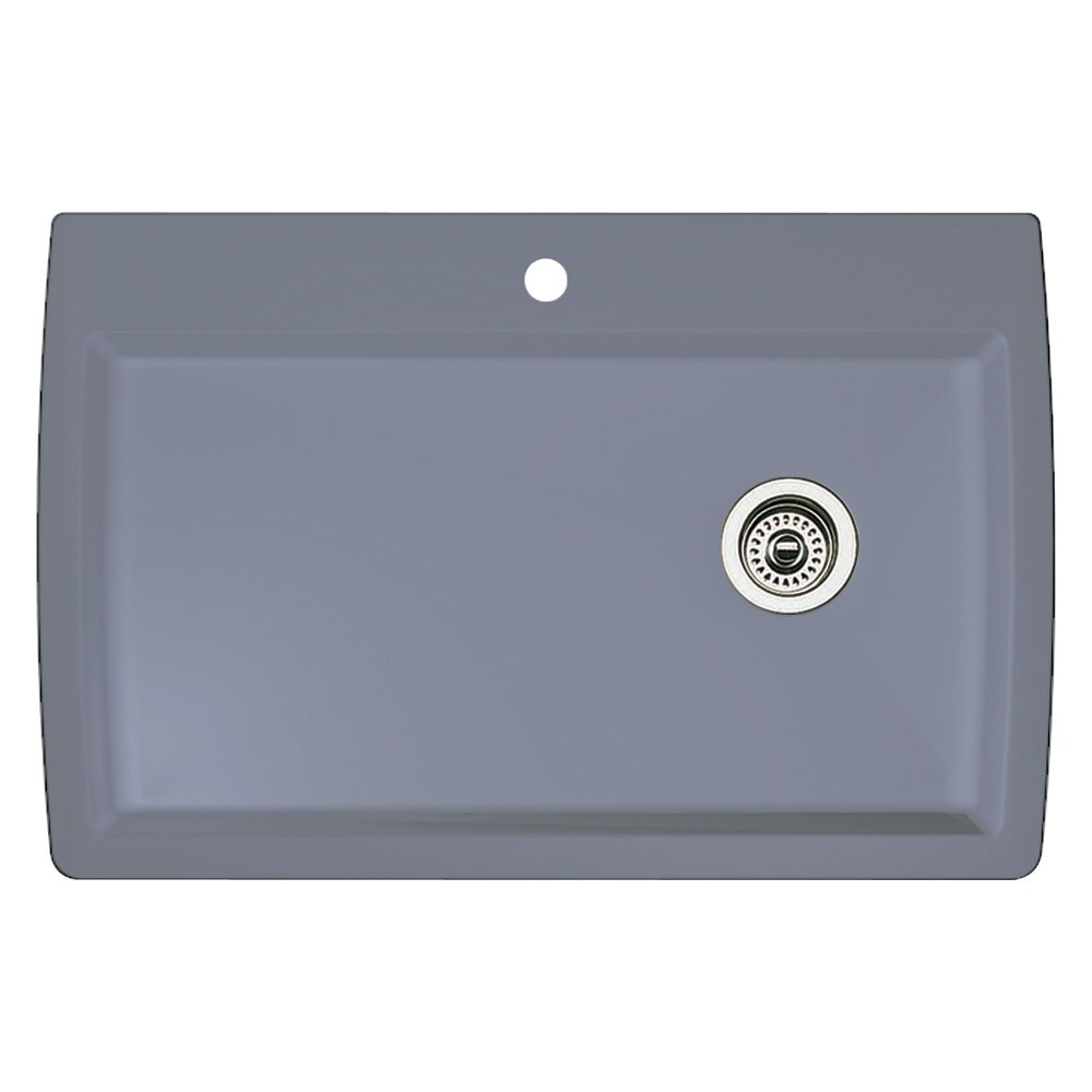 Blanco 440193 Diamond Super Single Bowl Kitchen Sink, Metallic Gray Finish    Blanco Undermount Sink   Amazon.com