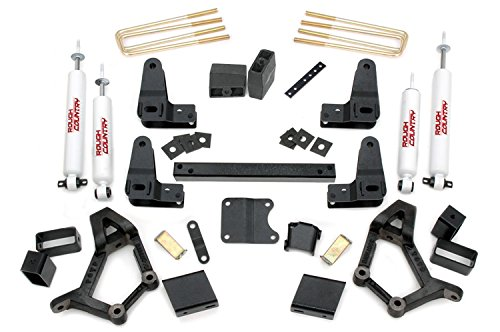 Rough Country - 733.20 - 4-5-inch Suspension Lift Kit w/ Premium N2.0 Shocks (89 Toyota Lift Kit compare prices)