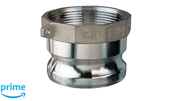 Kuriyama SDBC-SS-4 TigerClamp Stainless Steel Spiral Double Bolt Clamps 4
