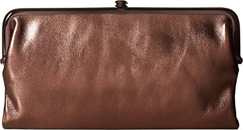 Bronze Wallet - Hobo Womens Lauren Vintage Wallet Clutch Purse (Burnt Bronze)