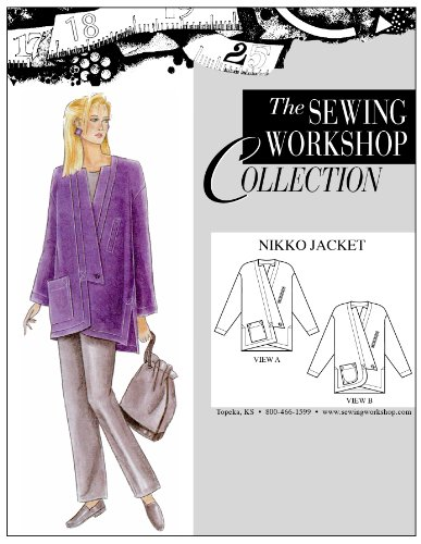 The Sewing Workshop Nikko Jacket Sewing Template, Multi-Size (Sewing Workshop)